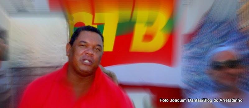 Aldemir Domício, presidente da CTB-DF, convoca os trabalhadores a Brasília em 24/05/17