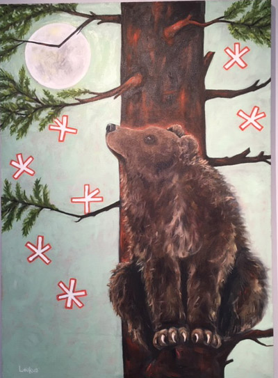 """Animal Life - Art from the Kalevala"" at Community Arts Center through Feb. 5"
