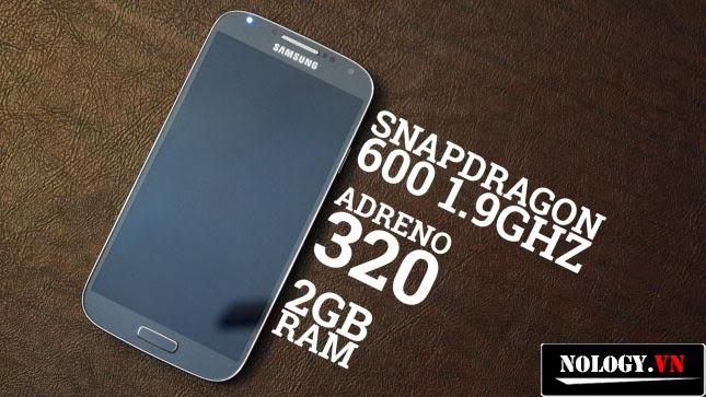 Chip xử lý trên S4 snapdragon 600 1.9GHZ