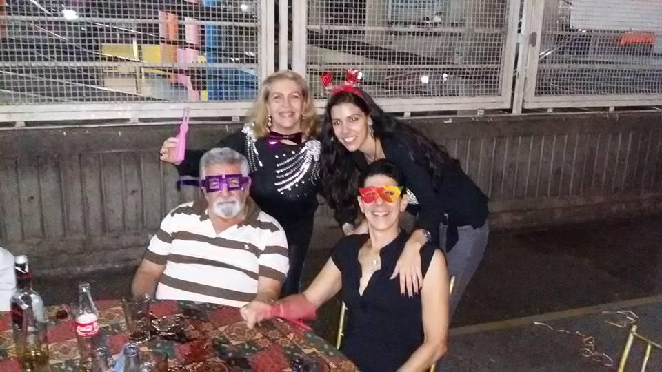 Dolores Señaris,Zhandra Bermudez, Armando Bermudez ,y Oly Meza.