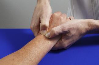 写真:手首の動かし方