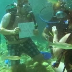 Woman Nearly Drowned After She Was Proposed To 40 Feet Underwater [See Photo]