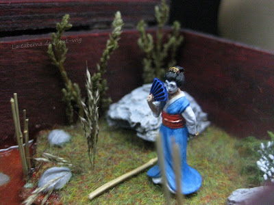 Detalle de la geisha