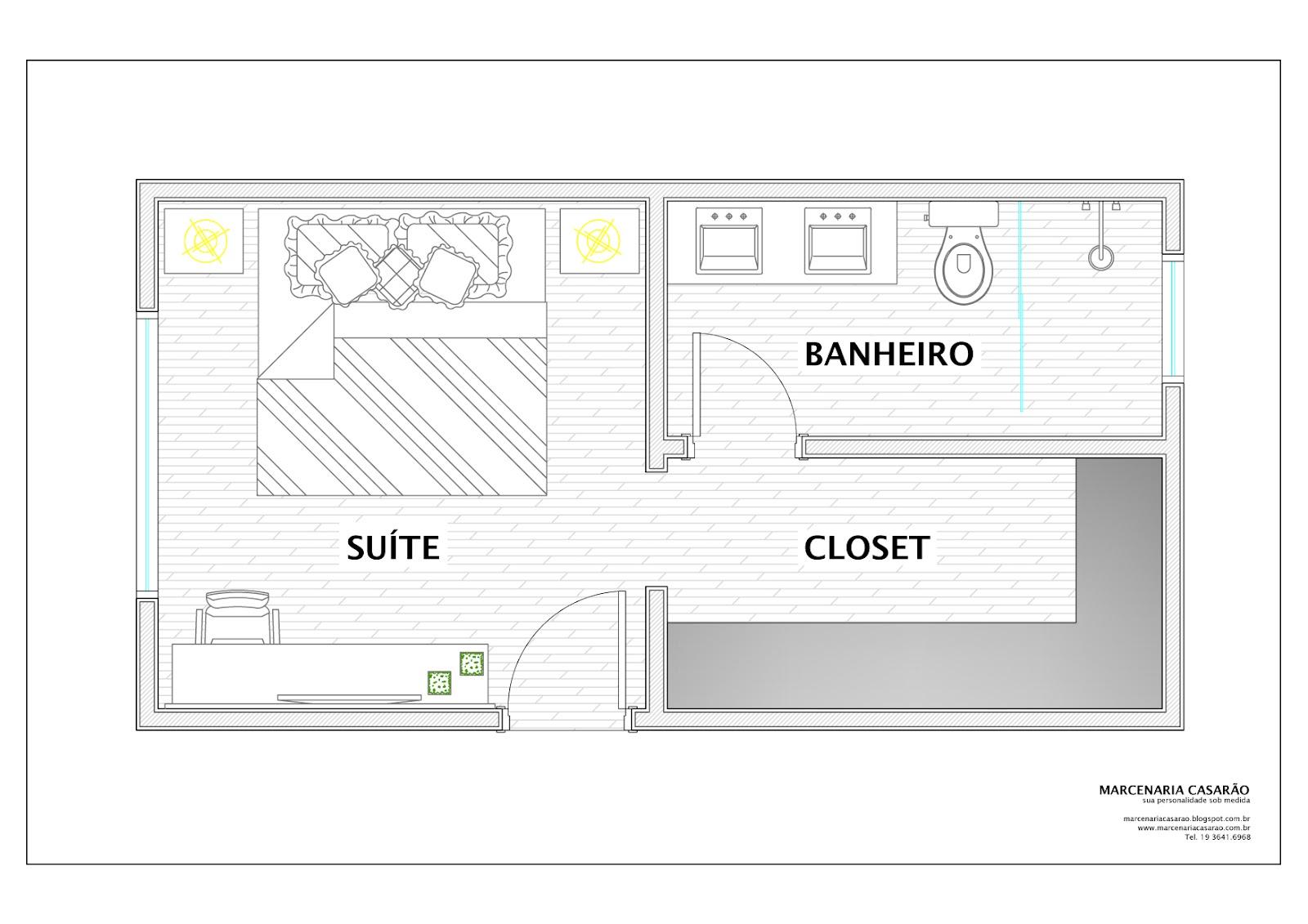 Marcenaria Casarão: Planejando o Closet por Izabela Anacleto #A4AC1F 1600 1131