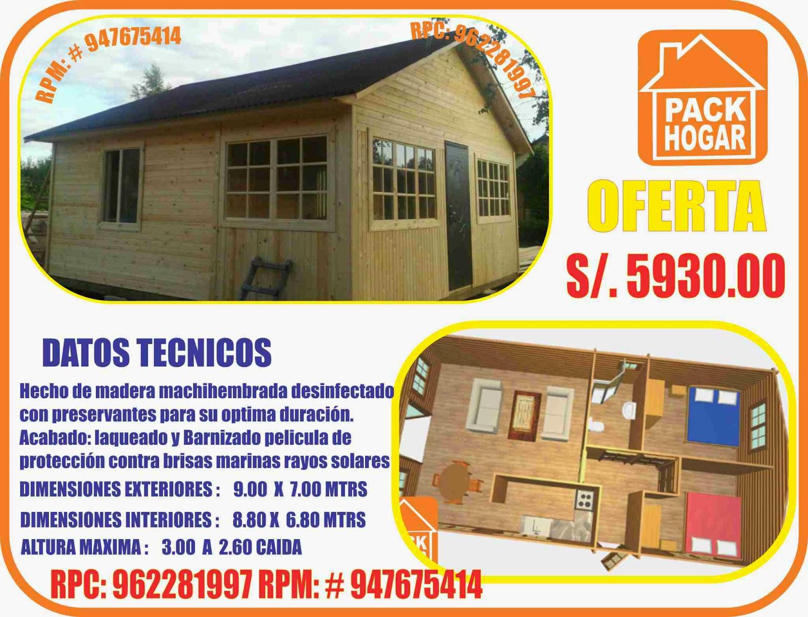 casas prefabricadas economicas para campo playa en peru