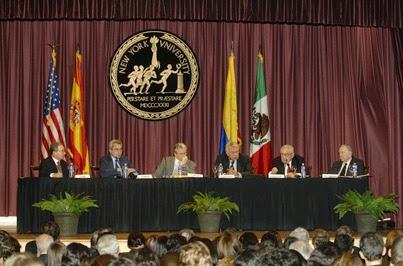 Garzón, Kissinger, Uribe y Felipe González (2005)