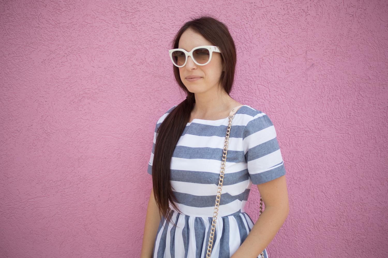 Shabby Apple Stripe Dress