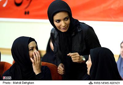 Koleksi Foto Cantiknya Wanita Iran Berhijab Terbaru 2014