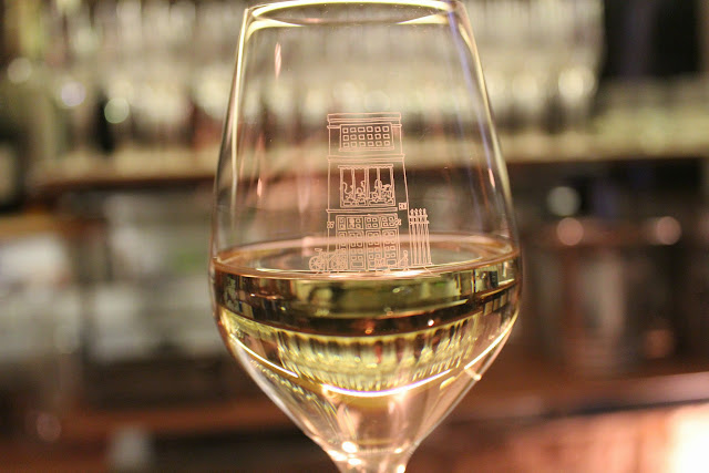Glass of Sancerre at Verjus Bar a Vins, Paris