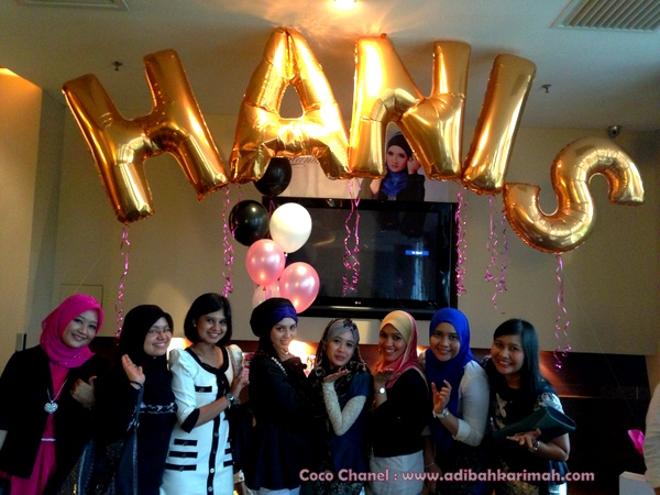 Coco Chanel cdm adibah karimah and team