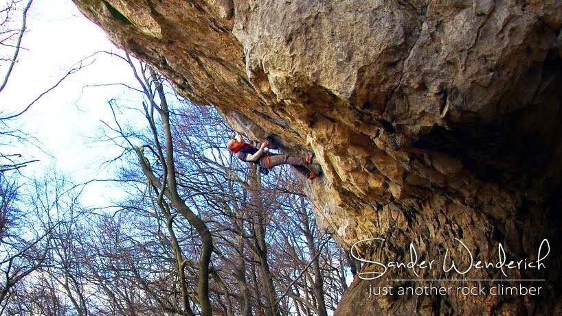 Sander Wenderich - Just another rock climber