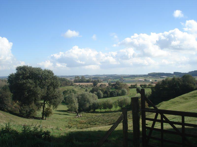 landschap Monts de Flandre