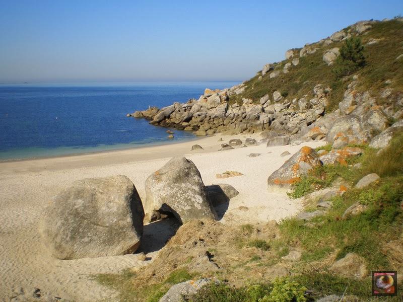 Playa de Ancoradouro en Bueu (Pontevedra)