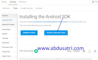 cara mendapatkan android sdk