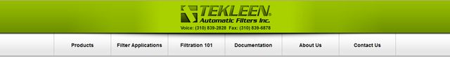 Automatic Water Filtration Systems from Tekleen.com