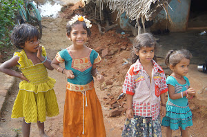 Beautiful village children-RUHSA