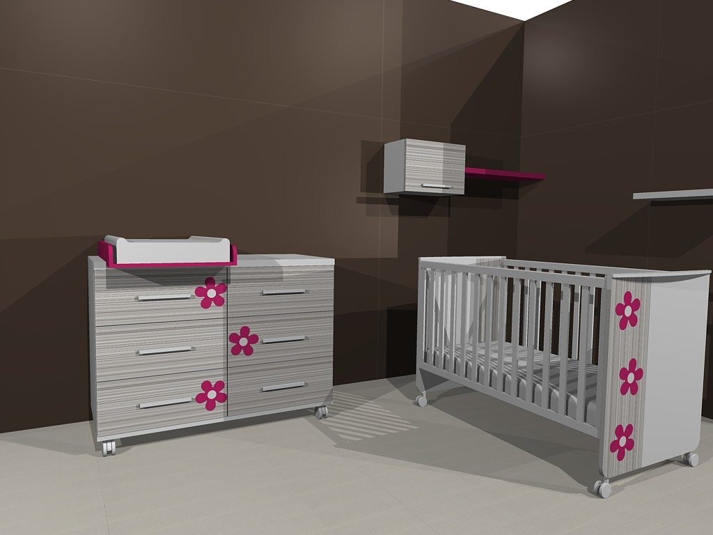 Muebles ros regalamos una habitaci n infantil - Mueble habitacion infantil ...
