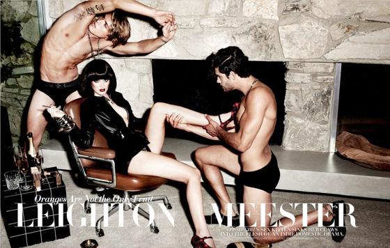 Leighton Meester, de la série Gossip Girl, pose seins nus pour le magazine Flaunt