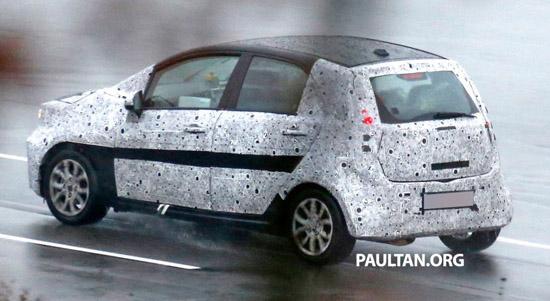 Foto Proton Baru P2-30A - Global Small Car Didedahkan