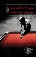 """Portada """"El Ruido de las cosas al caer"""", novela"""
