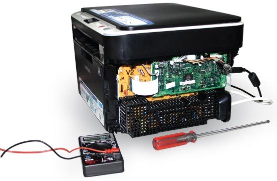 Самостоятельная прошивка лазерного принтера samsung