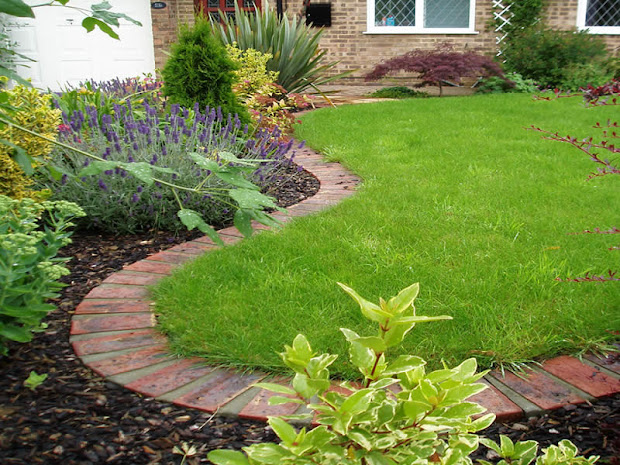 lawn edging - garden ideas