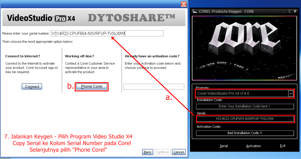 Corel videostudio pro x4 keygen dytoshare free for Corel video studio templates download