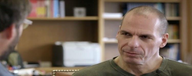 Yanis Varoufakis entrevista foto grecia ministro