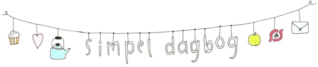 simpel dagbog