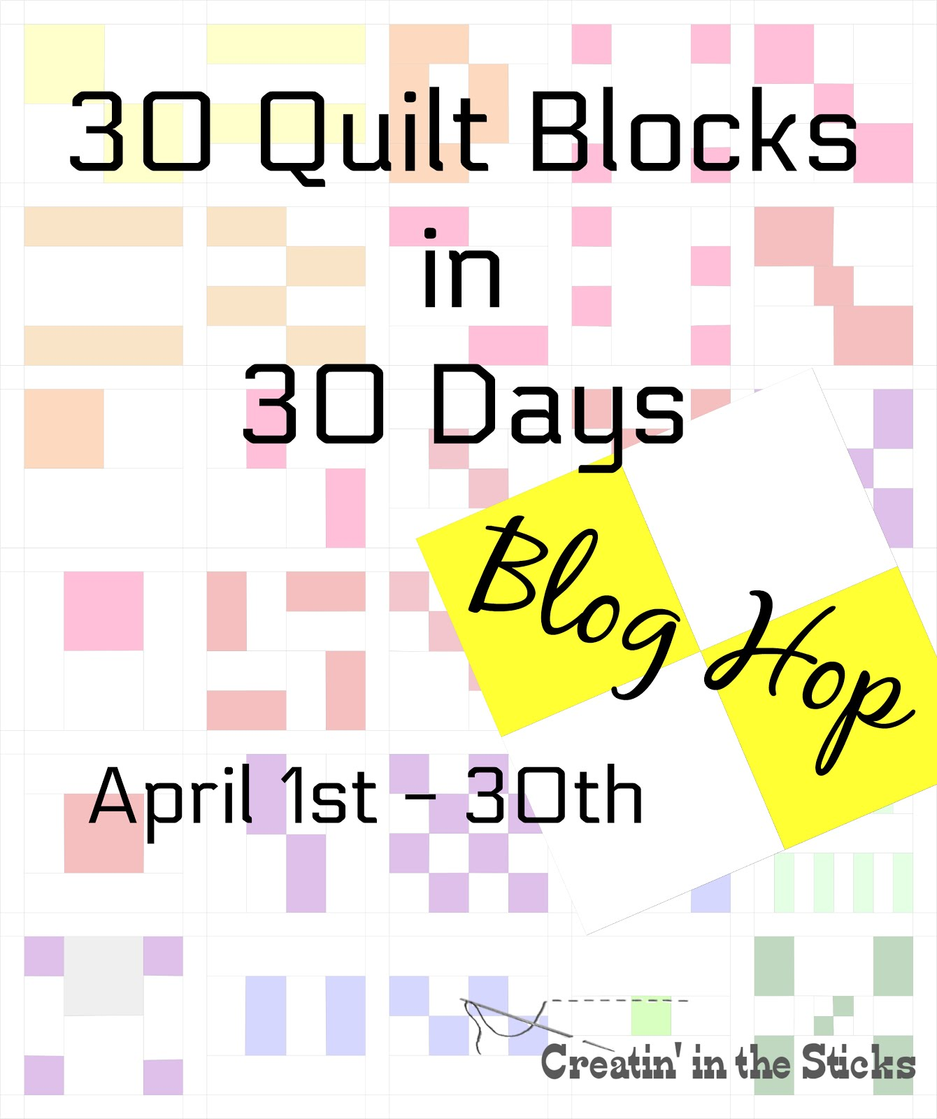 30 Blocks-30 Days Blog Hop