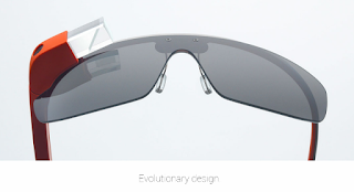 Google Glass Design Red Color