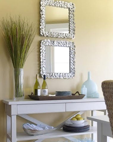 currey and company oyster mirror