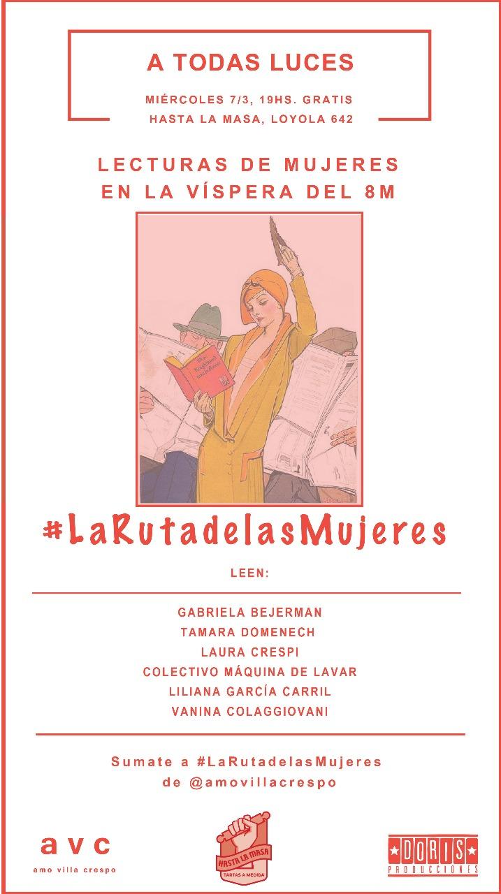 La Ruta de las Mujeres. Hasta la Masa. 2018.