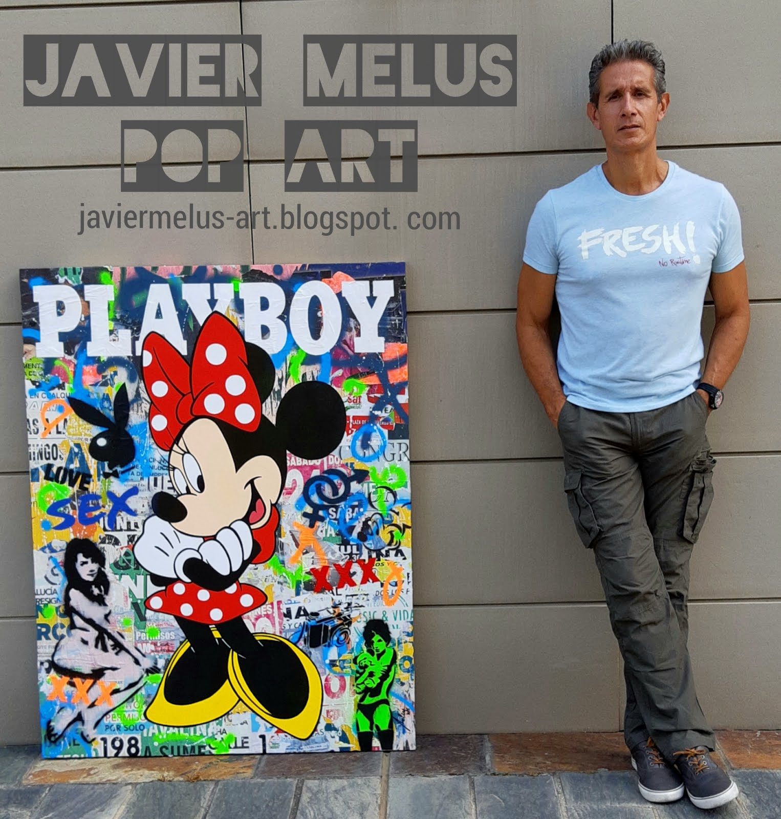 JAVIER MELUS - POP ART