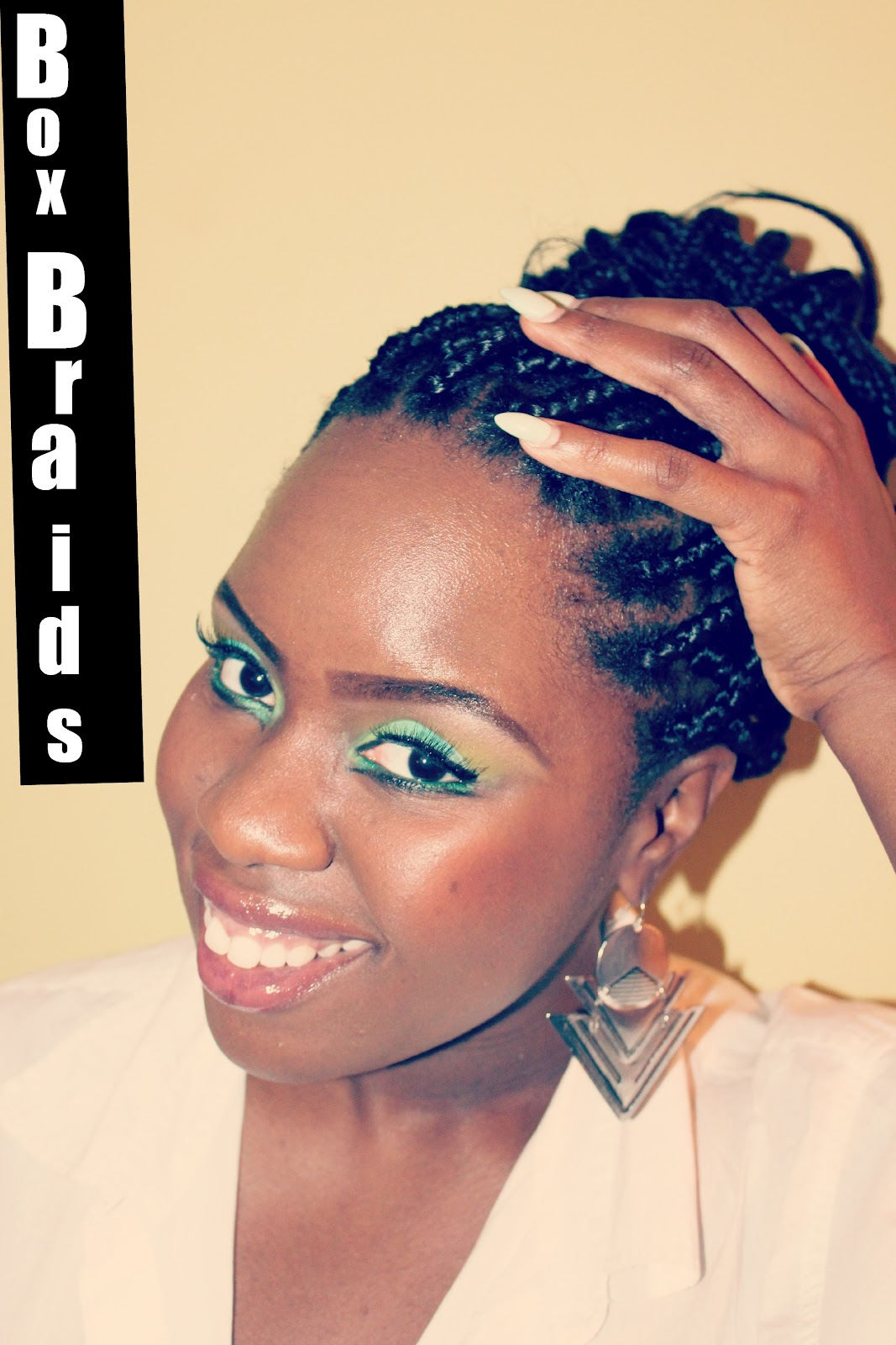 ... my box braids my last venture with box braids seemed so long ago but