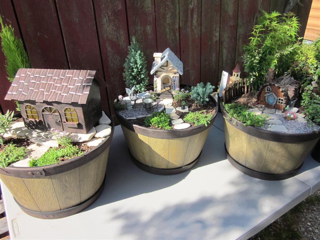 The Papercrete Potter More Mini Gardens
