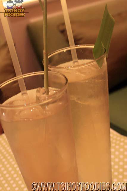 lemongrass juice pandan juice