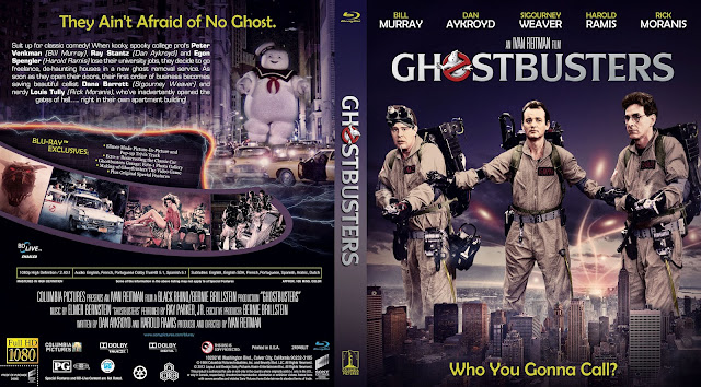 Capa Bluray Ghostbusters