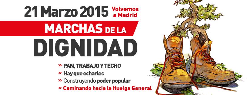 Málaga Marcha por la Dignidad 22M