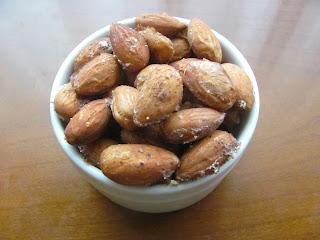 12 weeks of christmas treats: slightly sweet cinnamon sugar almonds