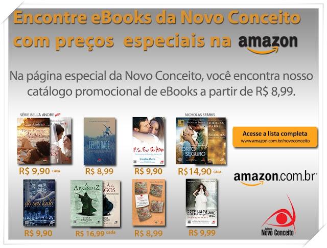 Novidades: Ebooks com preços especiais é com a Novo Conceito!