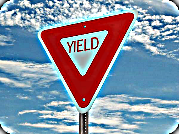 what does the yield sign mean drivers ed