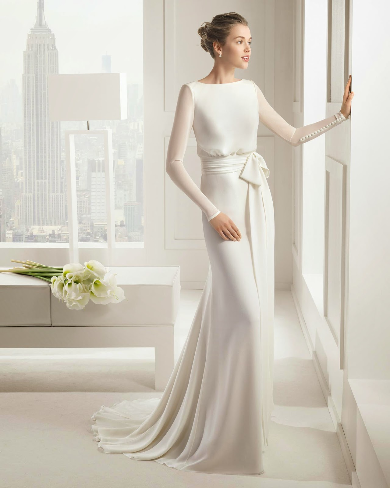 Winter Style Wedding Dresses 58