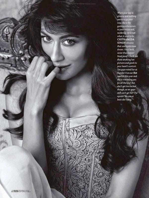 Chitrangada Singh Flirting with camera in Maxim Magazine 2011