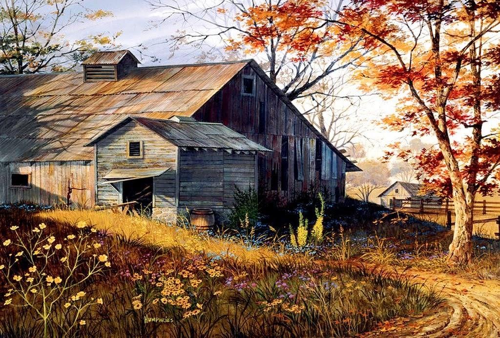 paisajes-de-campo-con-casasde-madera