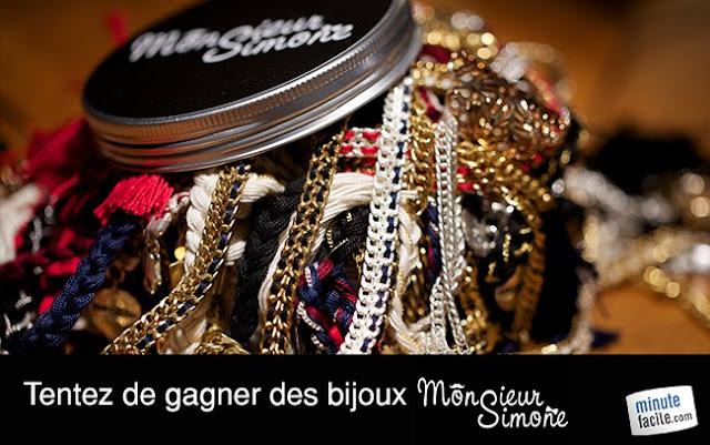 """2 colliers """"Maxi Léon"""" de la marque Monsieur Simone + 2 bracelets Maxi Raoul"""