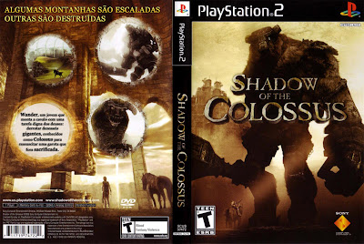Shadow Of The Colossus PS2 DVD Capa