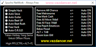 Cheat Full Hack Greget Ayodance V6130 vazdancer