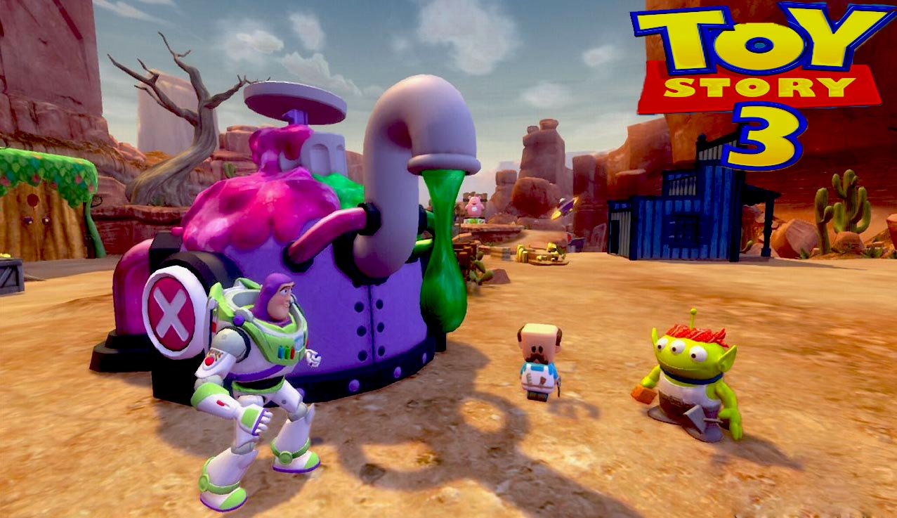 Toy 3 Games : Scrapa holic toy story game for pc