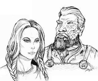 Grace and Kantner by Del Teigeler, Mavfire